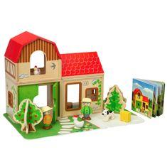Hape Farmársky domček set