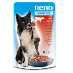 Reno kapsička pre psov 100g hovädzia