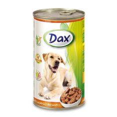 DAX konzerva pro psy 1240g s drůbeží