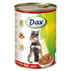 DAX konzerva pre psov 415g s hovädzím