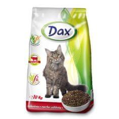 DAX Cat Dry 10kg Beef-Vegetables granulované krmivo pre mačky hovädzie so zeleninou