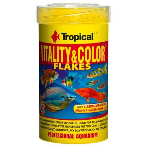 TROPICAL Vitality&Color 100ml/20g vločkové krmivo s vyfarbujúcim a vitalizujícím účinkem