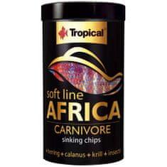 TROPICAL Africa Carnivore M 250ml/130g haleledel mindenevő afrikai halak számára