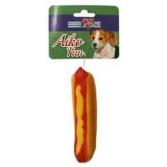COBBYS PET AIKO FUN Hot Dog 13,7cm gumená hračka pre psov