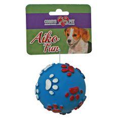 COBBYS PET AIKO FUN Tappancsos labda 6cm gumijáték kutyáknak