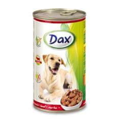 DAX konzerva pro psy 1240g s hovězím