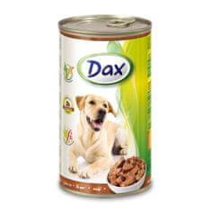 DAX konzerva pre psov 1240g s pečeňou