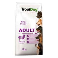 TROPIDOG Premium Adult Medium & Large 12kg jahňa s ryžou
