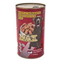 Max 1240g hovězí konzerva