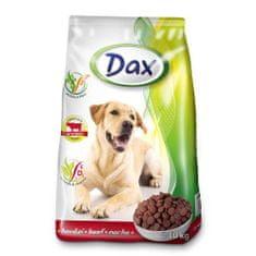 DAX Dog Dry 10kg Beef granulované krmivo pro psy hovězí