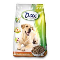 DAX Dog Dry 10kg Polutry granulované krmivo pre psov s hydinou