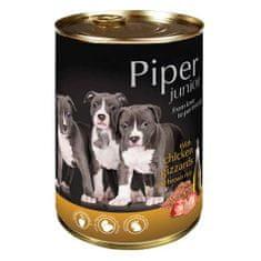 Piper JUNIOR 400g csirke gyomor és barna rizs konzerv kölyökkutyáknak