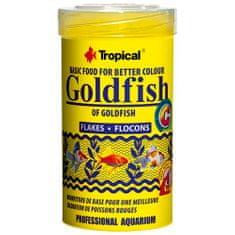 TROPICAL Goldfish Flake 100ml/20g krmivo pre závojnatky, podporujúce vyfarbenie