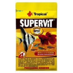 TROPICAL Supervit 12g vločkové krmivo pro všežravé akvarijní ryby