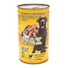 Max 1240g kuřecí konzerva