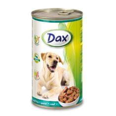 DAX konzerva pro psy 1240g se zvěřinou