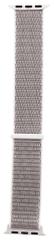 Tactical 536 látkový řemínek pro iWatch 1 / 2 / 3 / 4 / 5 38-40 mm 2449313, stříbrná