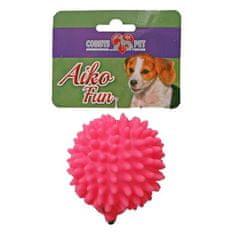 COBBYS PET AIKO FUN Ježek 8,5cm gumová hračka pro psy