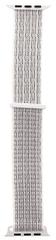 Tactical 537 látkový řemínek pro iWatch 1 / 2 / 3 / 4 / 5 38-40 mm 2449303, bílý
