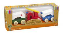 Orange Tree Toys Moje první záchranná vozidla / First Emergency Vehicles