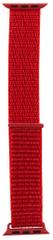 Tactical 545 látkový řemínek pro iWatch 1 / 2 / 3 / 4 / 5 42-44 mm 2449323, červený