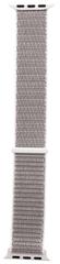 Tactical 547 látkový řemínek pro iWatch 1 / 2 / 3 / 4 / 5 42-44 mm 2449324, stříbrný