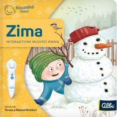 Minikniha pro nejmenší Zima - Interaktivní mluvící kniha