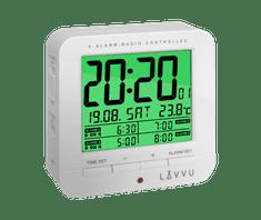 LAVVU Digitální budík řízený rádiovým signálem LAVVU White Cube