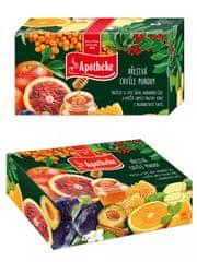Apotheke Apotheke Dárková kazeta prémiových čajů 96x2g