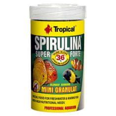 TROPICAL Super Spirulina Forte Mini Granulat 100ml/56g granulált apró szemcsés haltáp spirulinával