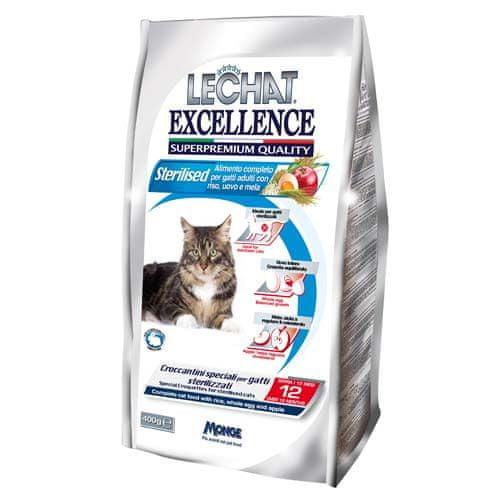 LECHAT EXCELLENCE MONGE STERILIZED 400g 35/12 superprémiové krmivo pre mačky