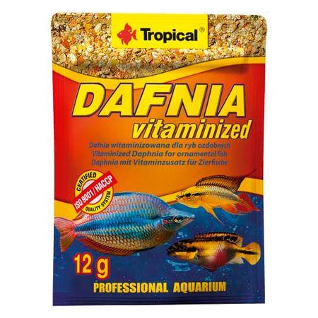 TROPICAL Dafnia Vitaminized 12g természetes haltáp vitaminokkal