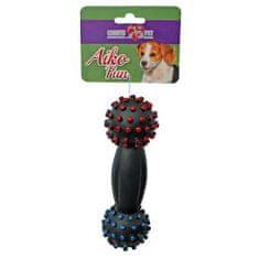 COBBYS PET AIKO FUN Súlyzó 17cm gumijáték kutyáknak