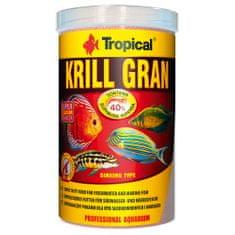 TROPICAL Krill Gran 1000ml/540g többösszetevős színfokozó haltáp merülő granulátum formájában