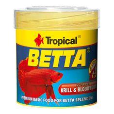 TROPICAL Betta 50ml/15g základné krmivo pre bojovnice