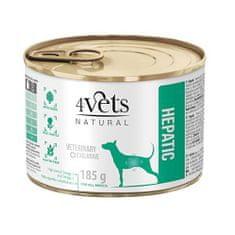 4VETS NATURAL VETERINARY EXCLUSIVE HEPATIC 185g dog