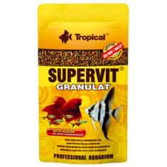 TROPICAL Supervit Granulat 10g mnohozložkové krmivo pre akváriové ryby