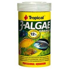TROPICAL 3-Algae Granulat 100ml/44g eledel édesvízi és tengeri halaknak algával