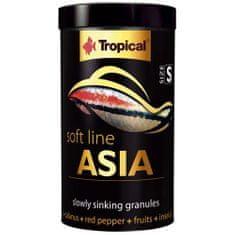 TROPICAL Asia S 100ml/50g puha granulált haltáp mindenevő és húsevő Ázsiából származó halaknak