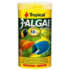 TROPICAL 3-Algae Flakes 250ml/50g eledel édesvízi és tengeri halaknak algával