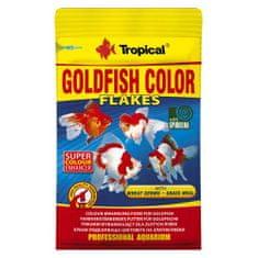TROPICAL Goldfish Color 12g kompletné krmivo pre ozdobné ryby