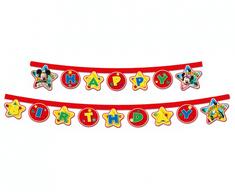 """GoDan Banner """"Mickey"""" - všetko najlepšie k narodeninám 230cm"""