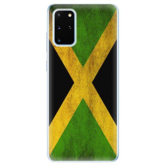 iSaprio Silikónové puzdro - Flag of Jamaica pre Samsung Galaxy S20+