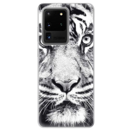 iSaprio Silikónové puzdro - Tiger Face pre Samsung Galaxy S20 Ultra