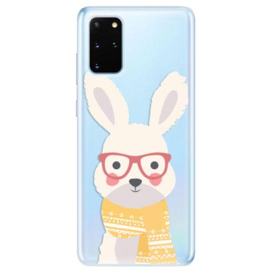 iSaprio Silikónové puzdro - Smart Rabbit pre Samsung Galaxy S20+