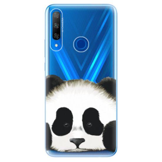 iSaprio Silikónové puzdro - Sad Panda pre Honor 9X
