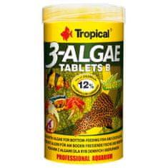TROPICAL 3-Algae Tablets B 250ml/150g 830ks tabletové krmivo s riasami pre sladkovodné a morské ryby