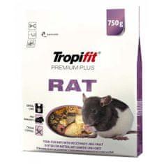 TROPIFIT Tropifit Premium Plus Rat 750g krmivo pre potkany
