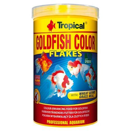 TROPICAL Goldfish Color 1000ml/200g színélénkítő aranyhaltáp