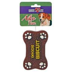 COBBYS PET AIKO FUN Kutya piskóta 12,5cm gumijáték kutyáknak